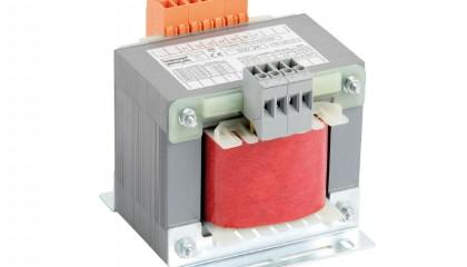 Transformadores de seguridad monofásicos <br>220V / 277V / 380V / 480V – 12V / 24Vac</br>